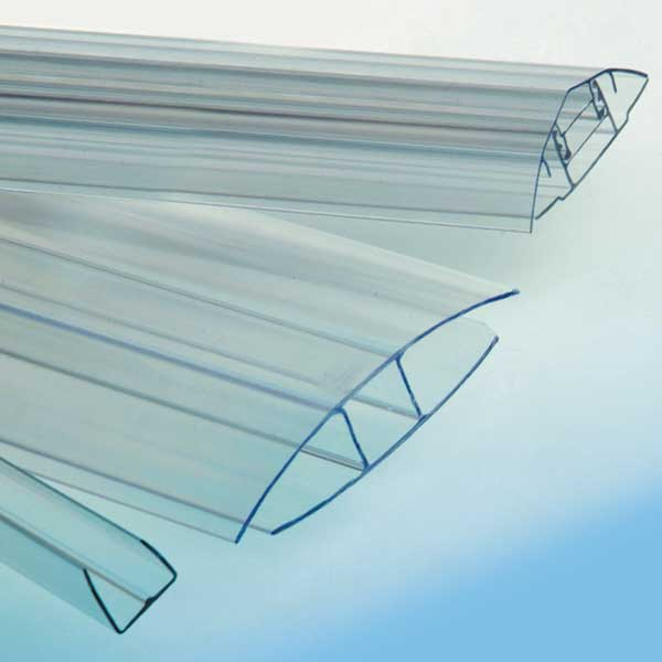 Profiles in Polycarbonate and Accessories for Flat Sheets